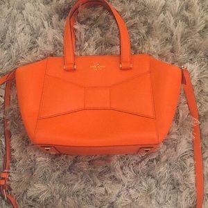 Kate Spade leather 2 Park Avenue bag